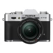 X-T10 レンズキット シルバー [プレミアムミラーレスカメラ シルバー+「XF 18-55mm F2.8-4 R LM OIS」]