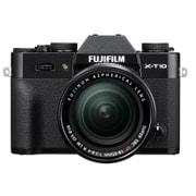 X-T10 レンズキット ブラック [プレミアムミラーレスカメラ ブラック+「XF 18-55mm F2.8-4 R LM OIS」]
