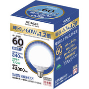 LDG8D-G/60HE [LED電球 E26口金 昼光色 840lm 広配光タイプ]