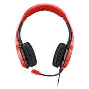 MCS-KAM-SHS-RD [PS 4/PS Vita/Wii U/スマートフォン対応ステレオヘッドセット レッド]