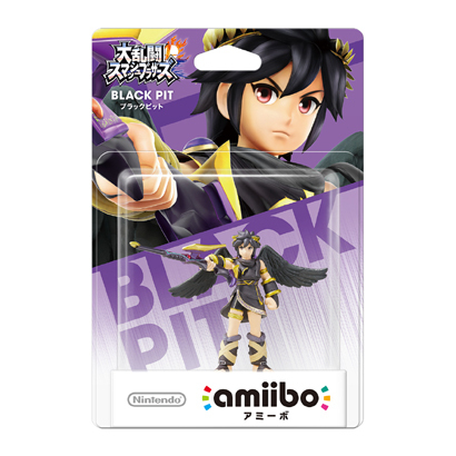 amiibo(アミーボ) ブラックピット (大乱闘スマッシュブラザーズシリーズ) [ゲーム連動キャラクターフィギュア]