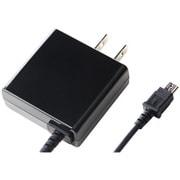IAC-18SP03KN [スマートフォン用 急速充電対応 1.8A出力 AC充電器 1.5m ブラック]
