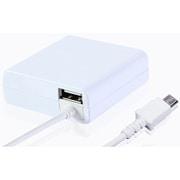 IACU-SP02WN [スマートフォン用 急速充電対応 2.4A出力 AC充電器+USBポート×1 1.8m ホワイト]