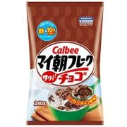カルビー マイ朝フレークチョコ味 240g