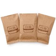 軽くてソフト+苦味コクパック 生豆時105g×3種類 おまかせ焙煎 中挽