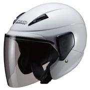 M-520 SEMI JET ホワイト [バイク用ヘルメット 57-60cm未満対応]