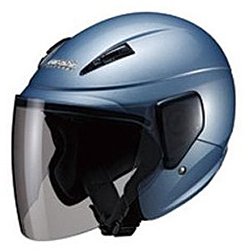 M-520 SEMI JET アイスブルー [バイク用ヘルメット 57-60cm未満対応]