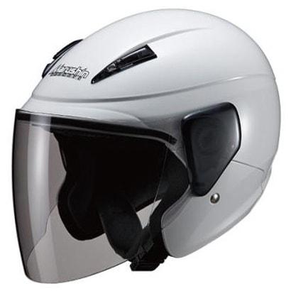 M-520XL SEMI JET ホワイト [バイク用ヘルメット 61-62cm未満対応]
