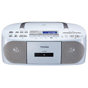 TY-CDH7(W) [CDラジオカセットレコーダー ホワイト ワイドFM対応]