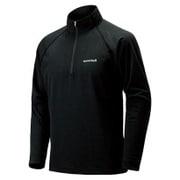 WIC.ジップシャツ Men's 1114124 ブラック Sサイズ [アウトドア カットソー メンズ]