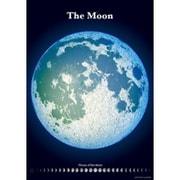 精密夜光月面図ポスター