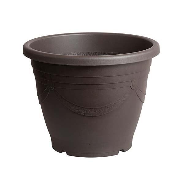 メダカの深鉢黒茶 13号 [金魚鉢]