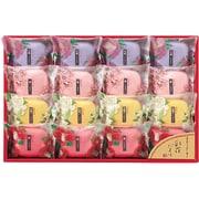 SAK-20 [石鹸ギフト 彩花だより 芍薬(70g)×4 桜'(70g)×4 山梔子(70g)×4 椿(70g)×4]