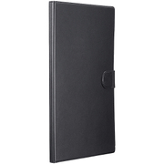 BSTPXTZ4LFBK [Xperia Z4 Tablet用 スリムレザーフラップケース 液晶保護フィルム付 ブラック]