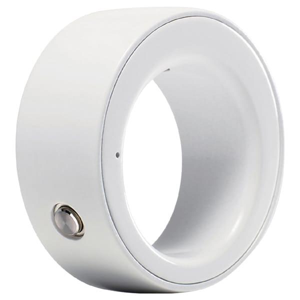 R001-PW02 [ウェアラブル端末 RingZERO Shiny White Mサイズ]