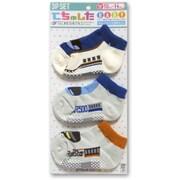 ベビー靴下 てちゅした3Pセット 西日本(W7系/レールスター/500系) [10cm~14cm]