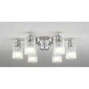 OC257010PC [LEDシャンデリア 51.6W(8.6W×6灯) ~10畳 リモコン付属 電球色/昼白色(切替)]