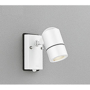 OG254584 [LEDエクステリアスポットライト 6W 人感センサ付 防雨型 ランプ別売 オフホワイト]