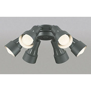 WF279LC [シーリングファン用灯具 58.8W(9.8W×6灯) ~8畳 電球色タイプ]