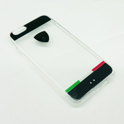 LB-TPUPCIP6-TR/D5-BK [iPhone 6/6s専用 クリアハードケース ブラック]