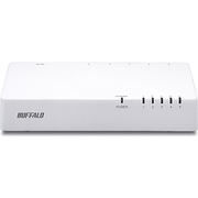 LSW4-TX-5NP/WHD [10/100Mbps対応 スイッチングHub プラスチック筐体 電源内蔵モデル ホワイト]