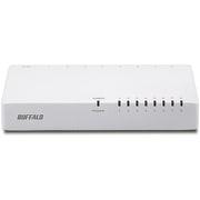 LSW4-TX-8EP/WHD [10/100Mbps対応 スイッチングHub プラスチック筐体 電源外付けモデル ホワイト]