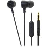 ATH-CKL220iS BK [スマートフォン用インナーイヤーヘッドホン ブラック]