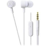 ATH-CKL220iS WH [スマートフォン用インナーイヤーヘッドホン ホワイト]