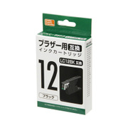 PP-BLC12BK [ブラザー LC12ブラック互換インク ブラック]