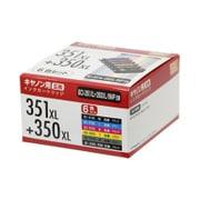 PP-C351L-6P [CANON BCI-351XL+350XL/6MP互換インク 6色パック]
