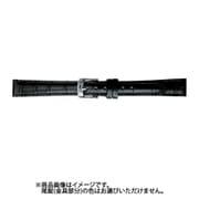 BKM051AF [時計バンド スコッチガード 型押し 10mm ブラック]