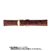 BKM053CO [時計バンド グレーシャス スコッチガード 型押し 17mm 茶]