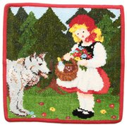 FEILER 61264 Fairy Tales little red riding hood [ハンドタオル 赤ずきんちゃん 並行輸入品]