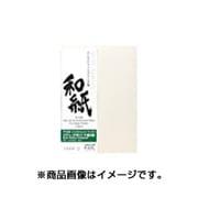IJ-3337 [阿波紙 びざん純白(厚口) 手漉き紙 300g/㎡ A3ノビ(5)]