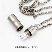 PC07-1 [純チタンピルカプセル ネックレス 70cm]