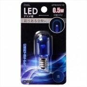 LDT1B-H-E12 11C [LED電球 E12口金 クリアブルー 0.5W]