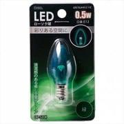 LDC1G-H-E12 11C [LED電球 E12口金 クリアグリーン 0.5W]
