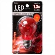 LDA1R-H 11C [LED装飾球 口金E26 1.3W クリアレッド]