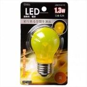 LDA1Y-H 11C [LED装飾球 口金E26 1.3W クリアイエロー]