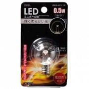 LDG1L-H-E12 12C [LED電球 E12口金 クリア電球色 0.5W]