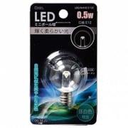 LDG1N-H-E12 12C [LED電球 E12口金 クリア昼白色 0.5W]