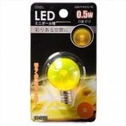 LDG1Y-H-E12 12C [LED電球 E12口金 クリアイエロー 0.5W]