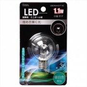 LDG1N-H-E17 13C [LED電球 E17口金 クリア昼白色 1.1W]