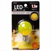 LDG1Y-H-E17 13C [LED電球 E17口金 クリアイエロー 1.1W]