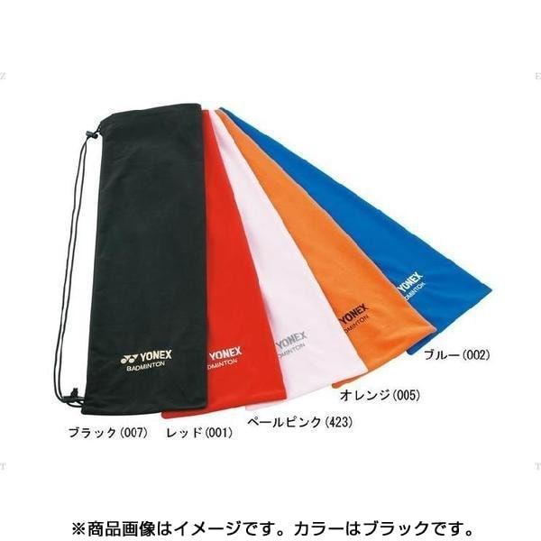 AC541-007- [テニスバッグ ソフトケース(バドミントンラケット用) ブラック]