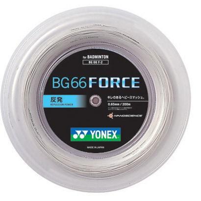 BG66F-2-011- [ストリング BG66フォース 200M ホワイト]