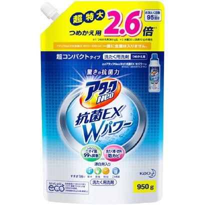 アタックNeo抗菌EX Wパワー [つめ替え用 950g]