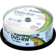 DVD-RW120.20WHT [録画用DVD-RW 20枚 120分 1~2倍速CPRM対応 インクジェットプリンタ対応]