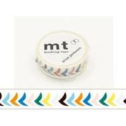 MTMINA26 [マスキングテープ mt×mina perhonen(ミナ ペルホネン) bird petit・mix 15mm幅×10m]