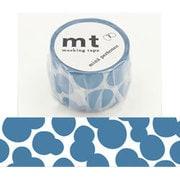 MTMINA30 [マスキングテープ mt×mina perhonen(ミナ ペルホネン) soda water・blue 35mm幅×10m]
